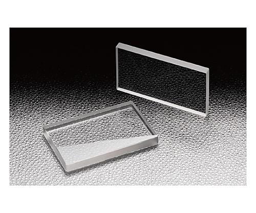 円筒面平凸レンズ BK 20×20mm 焦点距離500mm CLB-2020-500P