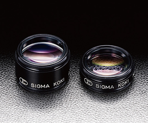 可視アクロマティック集光レンズ