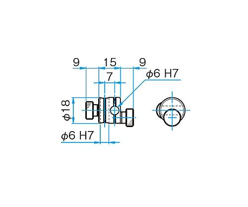 クロスクランプ CCHN-6-6