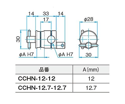クロスクランプ CCHN-12.7-12.7