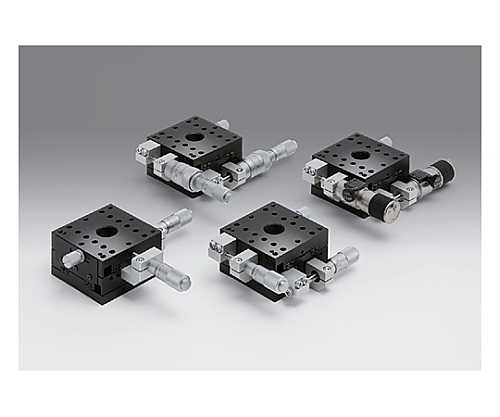 XY軸アルミクロスローラステージ 移動量/1回転粗動:0.5mm 微動:0.025mm TAM-652SRDMUU