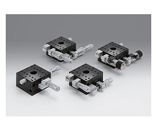 XY軸アルミクロスローラステージ 移動量/1回転粗動:0.5mm 微動:0.025mm  TAM-652CDM-M6
