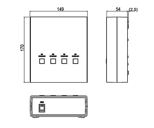 4軸シャッターコントローラ SSH-C4RA