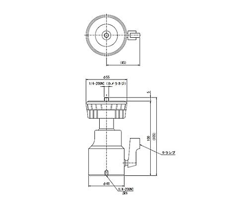 カメラホルダー 40N(約4kgf)  CMH-2-N