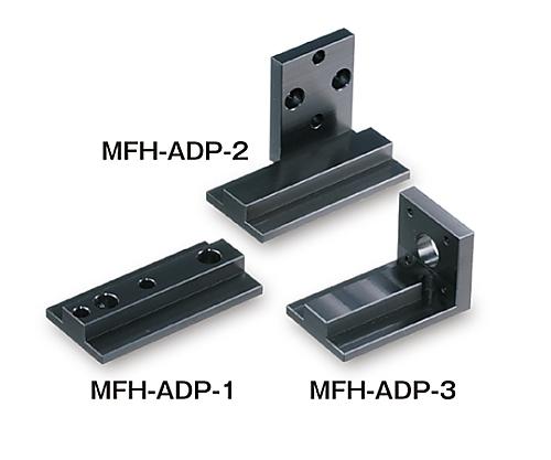 小型光ファイバーホルダー用取付アダプタ 垂直面固定用(M2取付穴)   MFH-ADP-3