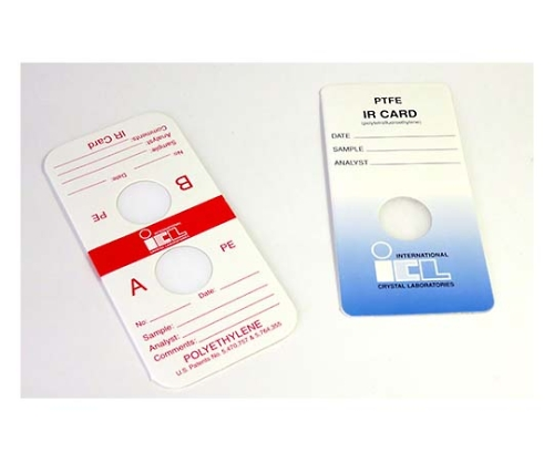 簡易透過IRカード(透過用セル)KBr, 15mm