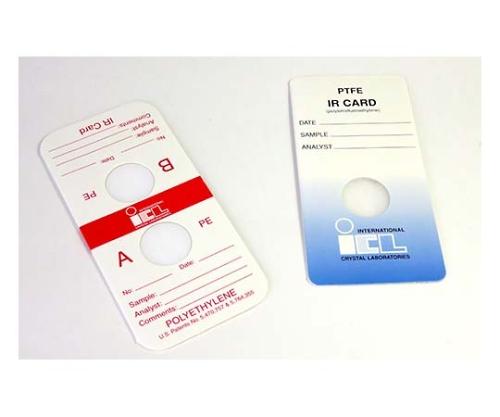 簡易透過IRカード(透過用セル)KBr, 9.5mm 0000-7096