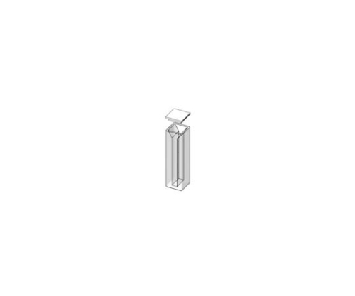 Micro Cuvette Optical Glass (Clear) with Teflon Cover