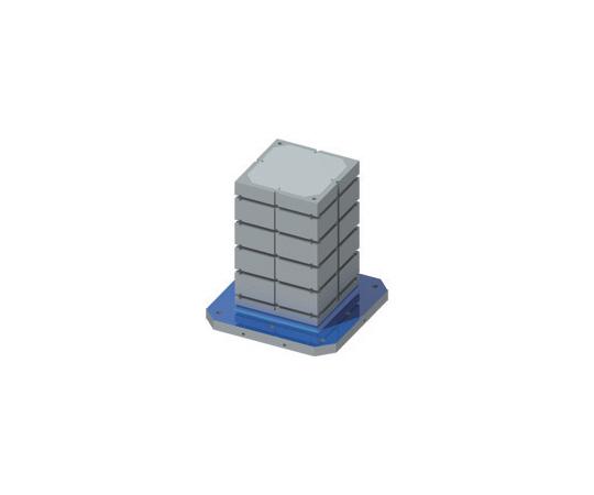 MCツーリングブロック(4面スタンダードタイプT溝仕様) TGV08-50080 TGV08-50080