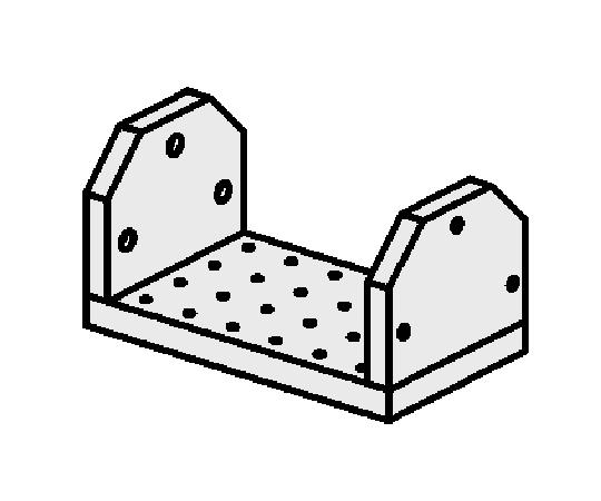 ゆりかごセット オフセット仕様(タップ穴タイプ)