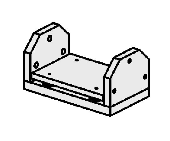 ゆりかごセット オフセット仕様(Qロックタイプ)
