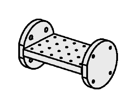ゆりかごセット センター仕様(タップ穴タイプ)