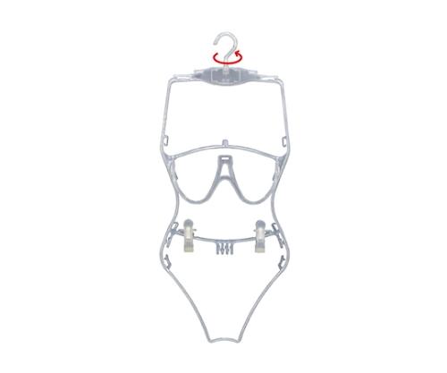 [取扱停止]水着用ハンガー 半透明 半透明 61-201-13-1