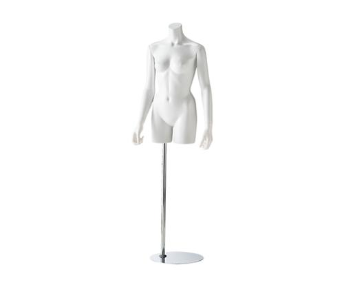 [取扱停止]婦人腕付きリアルボディ 腕付き 白 61-180-5-1