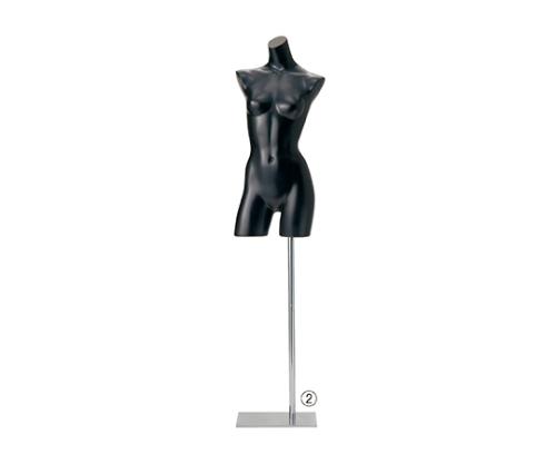 [取扱停止]婦人リアルボディ 黒ラッカー半ツヤ 51-188-6-2