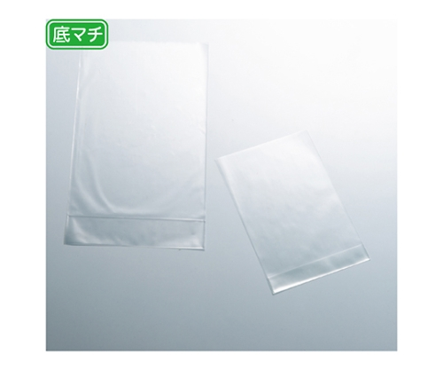 透明袋 底マチタイプ