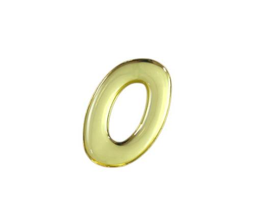 ゴールドメタル文字 0 35mm×1mm