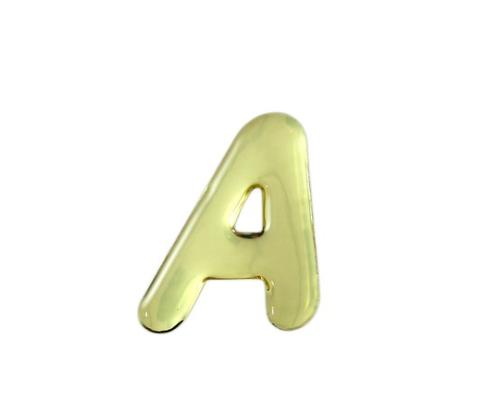 ゴールドメタル文字 A 35mm×1mm