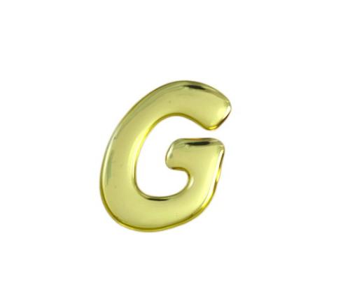 ゴールドメタル文字 G 35mm×1mm