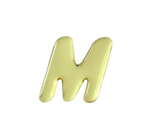 ゴールドメタル文字 M 35mm×1mm