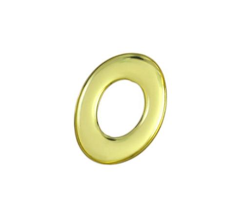 ゴールドメタル文字 O 35mm×1mm