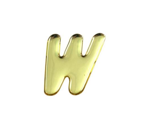 ゴールドメタル文字 W 35mm×1mm