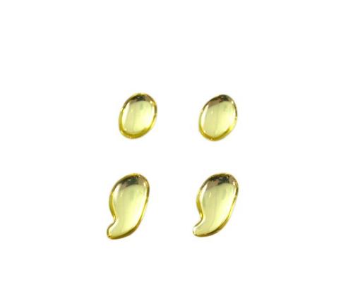 ゴールドメタル文字 ;; 35mm×1mm
