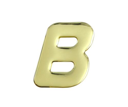ゴールドメタル文字 B 60mm×1mm