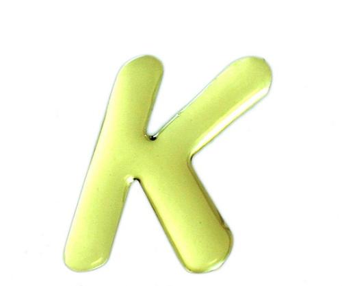 ゴールドメタル文字 K 60mm×1mm