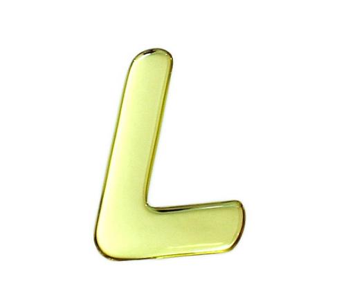 ゴールドメタル文字 L 60mm×1mm