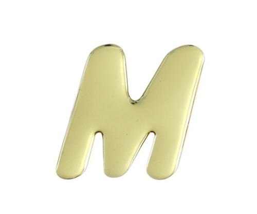 ゴールドメタル文字 M 60mm×1mm
