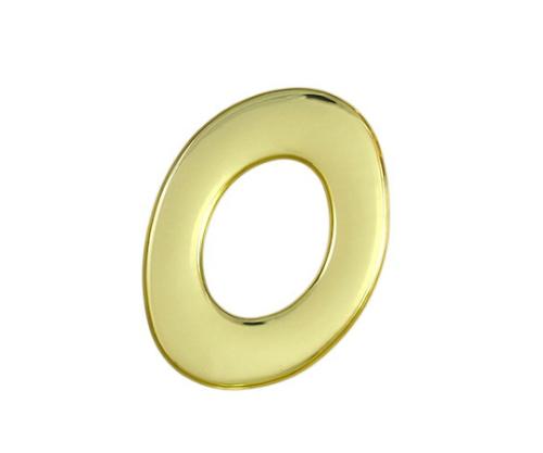 ゴールドメタル文字 O 60mm×1mm
