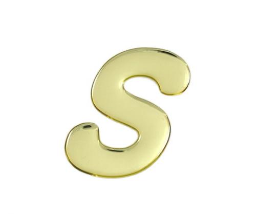 ゴールドメタル文字 S 60mm×1mm