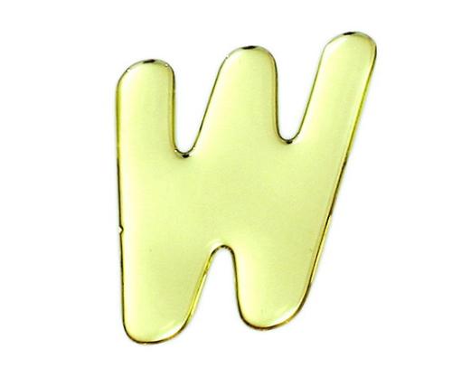 ゴールドメタル文字 W 60mm×1mm