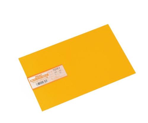 PS板 200×300×0.5mm オレンジ透明