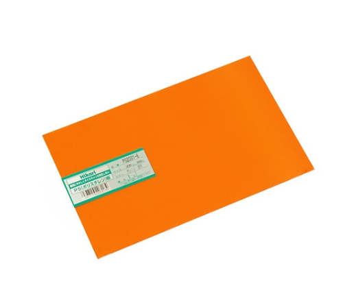 PS板 200×300×1.0mm オレンジ透明