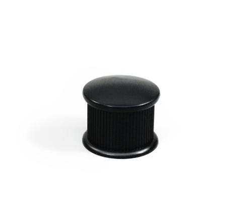 イス脚キャップ 丸 24ミリ 黒