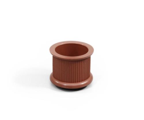 イス脚キャップ 丸 24ミリ 茶