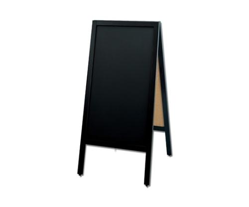 スタンド黒板和風タイプ両面 黒