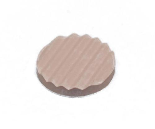 波ゴム 3×20ミリ 茶