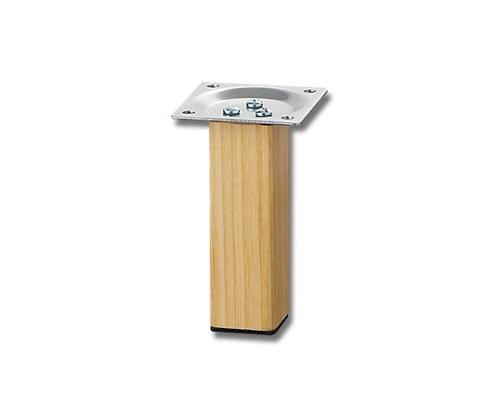 スマートレグ木製角脚32×100mmシルバー