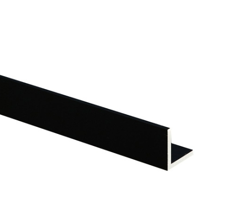 黒 等辺アングル 3.0×25×25×1000mm