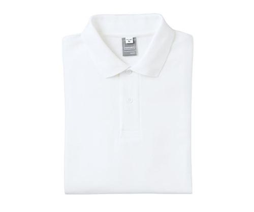 半袖PANTONEポロシャツ ホワイト 4Lサイズ FNP102