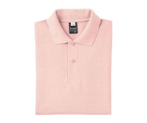 半袖PANTONEポロシャツ ピンク Lサイズ FNP102