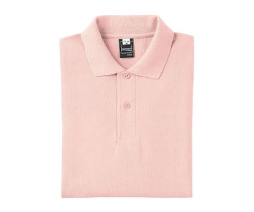半袖PANTONEポロシャツ ピンク LLサイズ FNP102