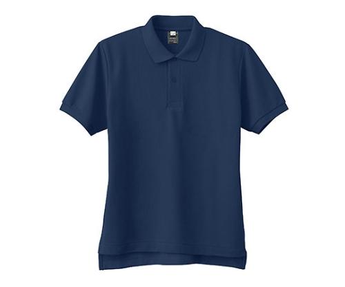 半袖PANTONEポロシャツ ネイビー Lサイズ FNP102