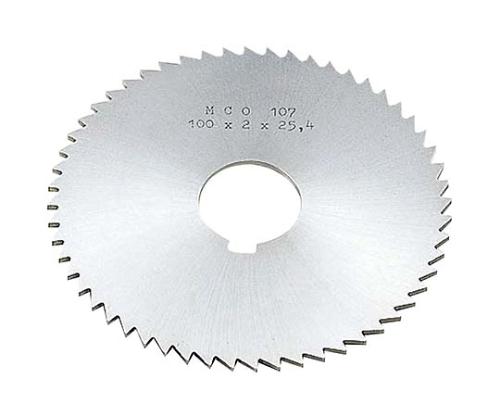 メタルソー φ100×6.0t 軸穴径φ25.4 MST100X060