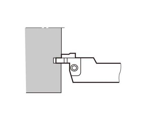CFGSR2525-4SC TACバイト CFGSR2525-4SC