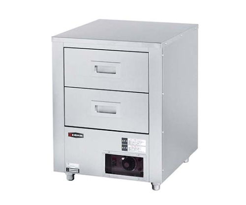 エイシン 電気カップウォーマー(ドライ式)CW-20(引出式2段) 3144400