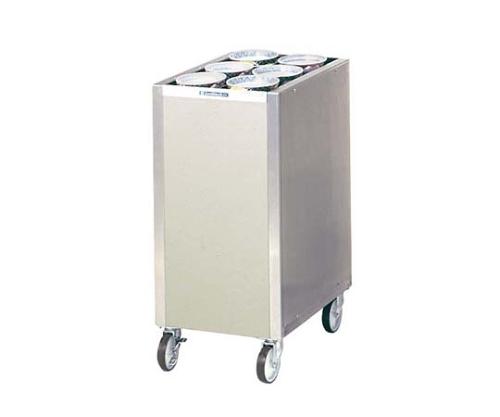 食器ディスペンサー カート型 保温無 CL16W6 サニストック 7359800